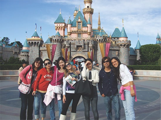 Experience attractions like Disneyland, Universal Studios, Hollywood, and Six Flags Magic Mountain