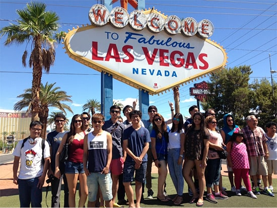 Tour major US destinations like Los Angeles, San Francisco, and Las Vegas